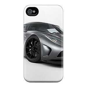 Bernardrmop Case Cover For Iphone 4/4s - Retailer Packaging Koenigsegg Agera Protective Case