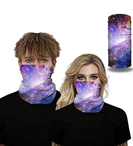 Seahouse UV Protection Face Neck Shields Headwear Bandana for Men Women Motorcycle Hiking Cycling Ski Snowboard Summer (Purple)