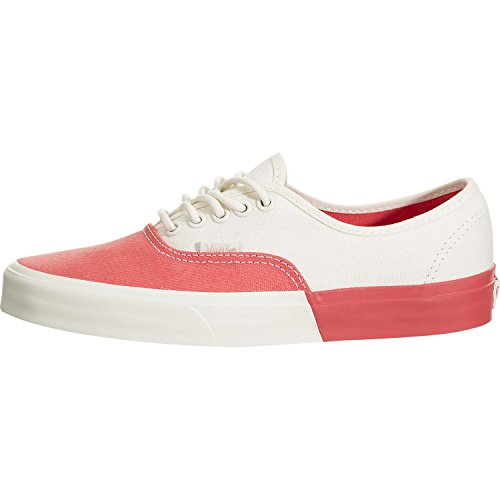 VansUA Authentic DX - Sneakers Basse - Classic White/Deep Sea Coral