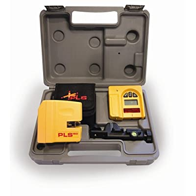 PLS Laser PLS-60522 PLS180 Laser Level System, Yellow