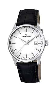 Candino C4455/2 - Reloj analógico de cuarzo para hombre con correa de piel, color negro