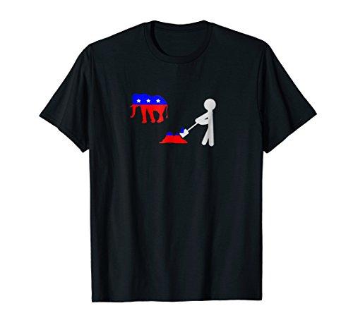 Democrat Republican Elephant Poop Shirt