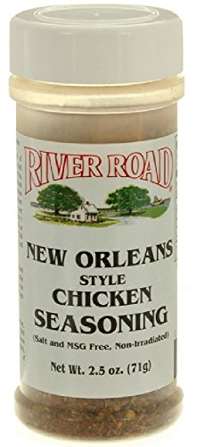 River Road New Orleans Style Chicken Seasoning, 2.5 Ounce Shaker