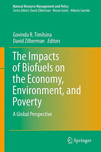 The Impacts Of Biofuels On The Economy  Environment  And Poverty  A Global Perspective  Natural Resource Management And Policy