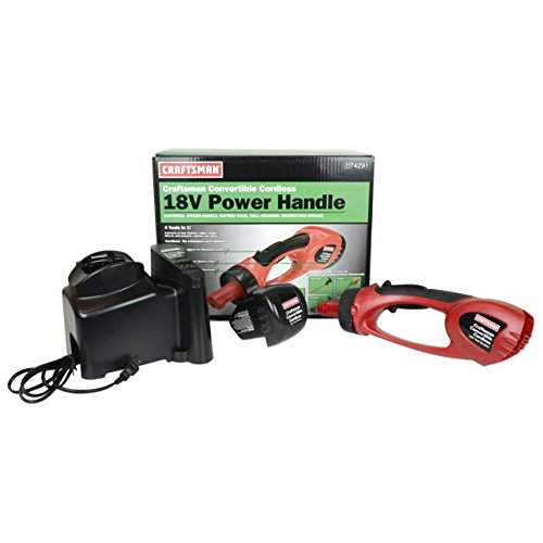 Craftsman 74291 18V Cordless Power Handle Kit includes (Battery and Charger)