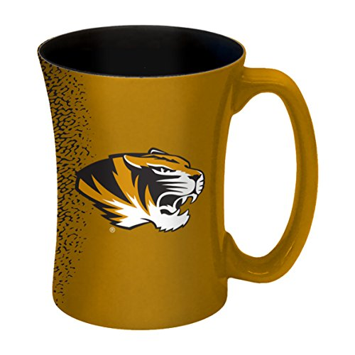 NCAA Missouri Tigers Sculpted Mocha Mug, 14-ounce