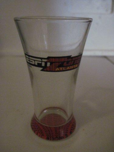 Disney Espn Zone Atlanta Glass Fluted Shot Glass