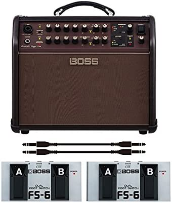 【フットスイッチ*2個/FS-6+audio-technica製接続ケーブル*2本付】BOSS ボス Acoustic Singer Live ACS-LIVE アコースティック・ステージ・アンプ