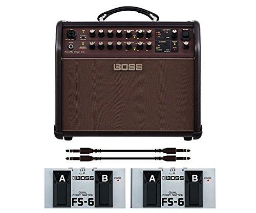 【フットスイッチ*2個/FS-6+audio-technica製接続ケーブル*2本付】BOSS ボス Acoustic Singer Live ACS-LIVE アコースティック?ステージ?アンプ B06X8ZGTPX