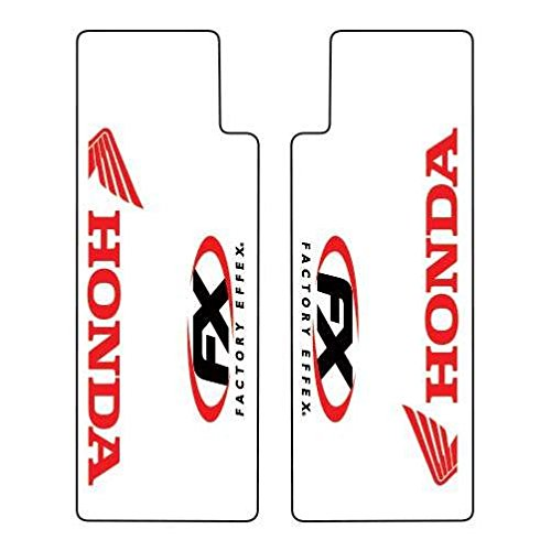 Factory Effex (06-38302 Red Upper Fork Shield Graphic