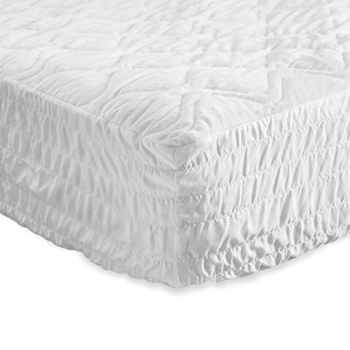- Bedsure Super Soft & Warm Mattress Pad Extra Large Twin XL Hypoallergenic Quilted Mattress Protector,Breathable Microplush Dust Mite Proof Fitted Sheet Mattress Cover,up to 18