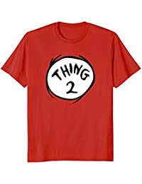 Thing 2 Emblem RED T-shirt