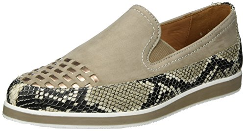 ara Damen Lancaster Slipper Beige (Taupe,copper)
