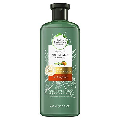 Herbal Essences bio: renew Potent Aloe + Mango Conditioner for Curly Hair, 400 Milliliters