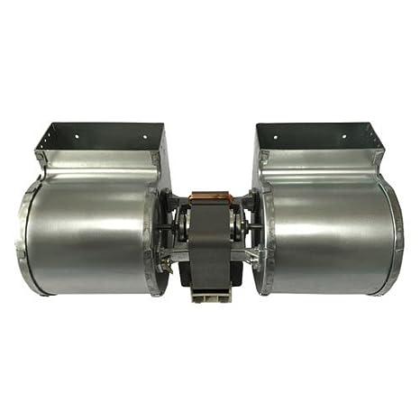 Ventilador centrífugo doble, de Emmevi, 133 W, para estufa de pellet Edilkamin modelo Iris, Prisma, Silcalor, Ecoforest: Amazon.es: Hogar
