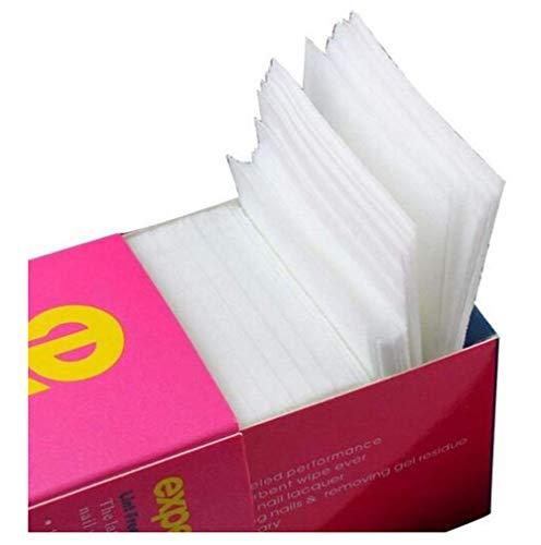 - 325PCS/Box Professional Lint Free Nail Wipes Nail Art Gel Polish Remover Cotton Pad Nail Wipe