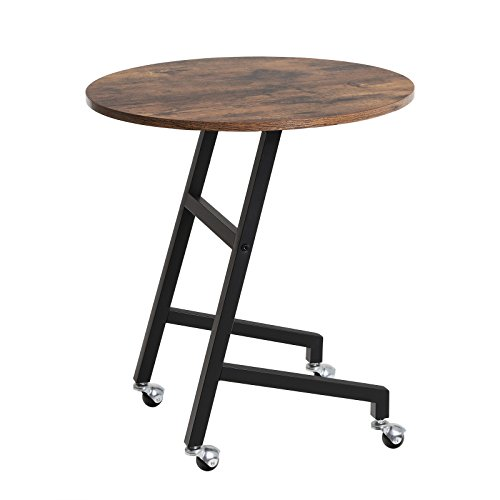 Amazon.com: SONGMICS Vintage End Table, Mobile Side Table