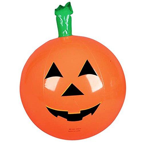 Halloween Beach Balls - Inflatable Halloween Pumpkins 16