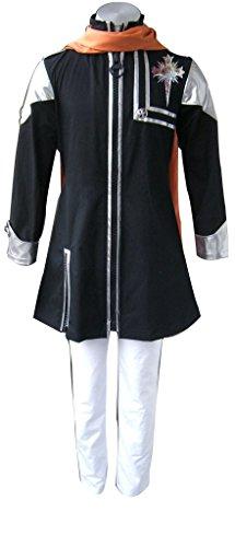 Mtxc Men's D.Gray-man Cosplay Costume Lavi 1st Size X-Large Black (D Gray Man Lavi Cosplay Costumes)