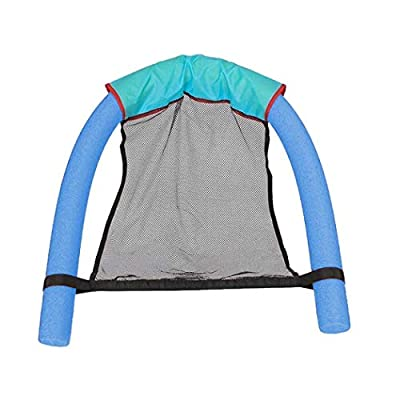 RIBITENS Pool Noodle Chair Net Swimming Bed Seat Floating Chair Summer Floating Equipment Toy: Sports & Outdoors