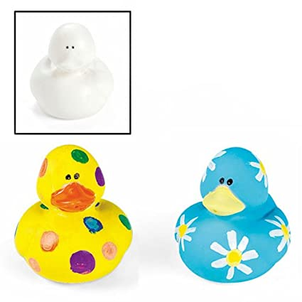 Amazoncom Design Your Own Rubber Duckies 1 Dz Toy Toys Games