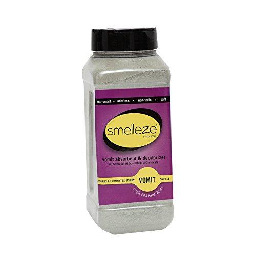 Smelleze Natural Vomit   Smell Absorbent  2 Lb  Granules Stop Puke Odor