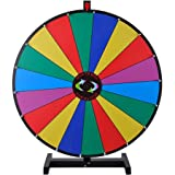 30'' Tabletop Spinning Prize Wheel 18 Slots with Color Dry Erase