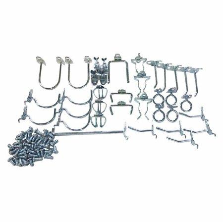 Pegboard Hook Assortment Kit, (Edge Peg Kit)