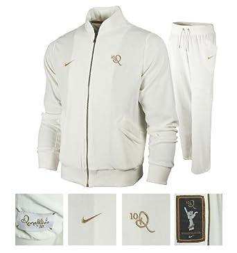 00ade8cee0a9 Nike Ronaldinho 10R Velour Warm-Up Tracksuit Set (XXL)  Amazon.co.uk ...