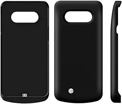 Samsung Galaxy S6 Edge Plus Funda Batería, 5200mAh Recargable Externa Portátil Batería Cargador Pack Power Bank Integrada Backup Alta Capacidad Extra ...