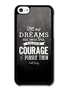 Diy iPhone 6 plus AMAF ? Accessories All Our Dreams Can Come True Walt Disney Animation Movie Quote case for iPhone 6 plus