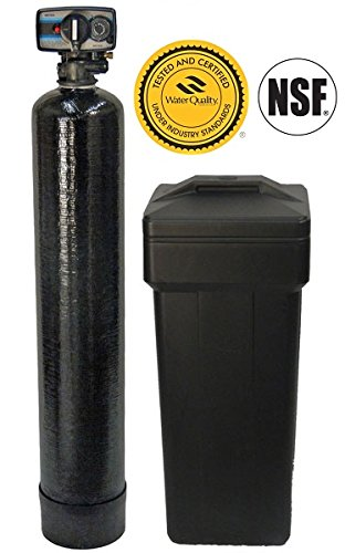 DuraWater Mechanical Fleck 5600 Metered Water Softener With USA Tanks Ships Loaded (48,000 Grains, 8% Resin)