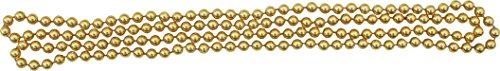 Full Funk coloured Plastic Bead Necklace or Sash For Thai Dance and Wedding Sets, Gold