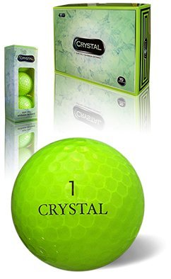 Fl Golf Crystal Golf Balls (FLASH GREEN)