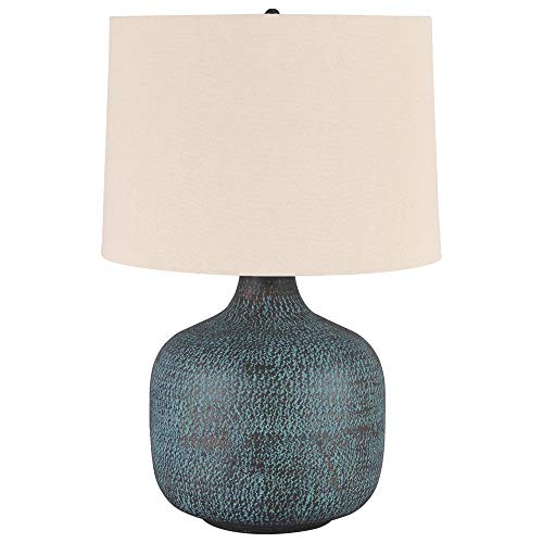 Signature Design by Ashley L207304 Malthace Metal Table Lamp (1/CN), Patina