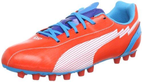 Puma - Botas de deportivo infantil, tamaño 39 UK, color blanco-limoges- Rot (orange.com-white-hawaiian 05) (Rot (orange.com-white-hawaiian 05))
