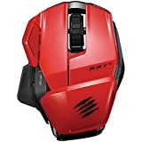 MADCATZ MCB437170013/04/1 Office R.A.T.(TM) M Wireless Mobile Mouse (Red) Electronics Computers Accessories