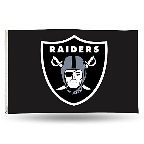Banners And Flag Flags Nfl - NFL Oakland Raiders Banner Flag 3-Foot by 5-Foot