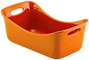 "Rachael Ray Stoneware 9"" x 5"" Loaf Pan"