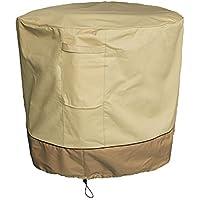 Summates Air Conditioner Cover (Round),Tan