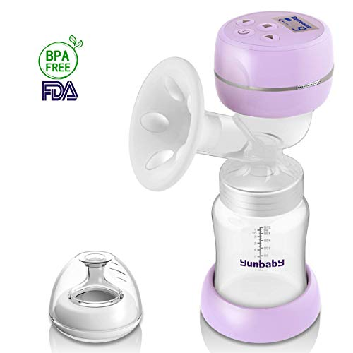 Electric Breast Pump, Portable Milk Pump Breastfeeding with