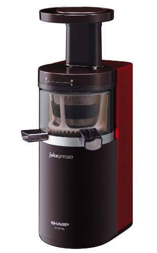 SHARP juicepresso Slow juicer Red EJ-CP10A-R