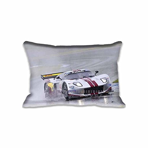 Latest Fashion 16X24 Inch Car Race Pillow Covers for Sofa Office , Unique Sports Throw Pillowcases Cushion Cases Cool (Two Sides) Barry Pillowcase