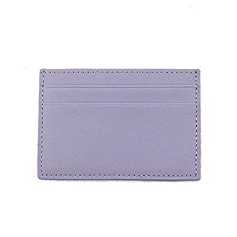 c2584e7285dd Image Unavailable. Image not available for. Color: Classic Business  Saffiano Split Leather Credit Card Holder Limited Edition Customed Initial  letters ID ...