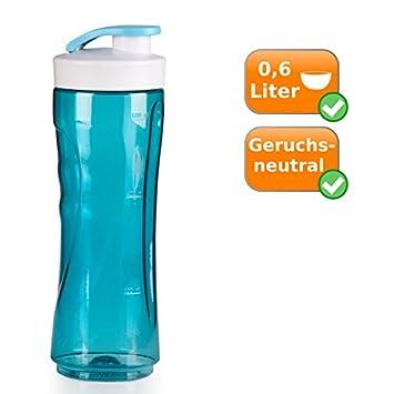 600 ml Botella, grandes bolsillos Botella de repuesto para batidora (300 ml, color azul: Amazon.es: Hogar