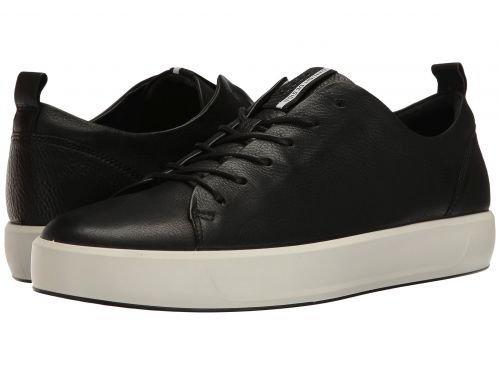 ECCO(エコー) メンズ 男性用 シューズ 靴 スニーカー 運動靴 Soft 8 Tie - Black [並行輸入品] B07BLRPV6X