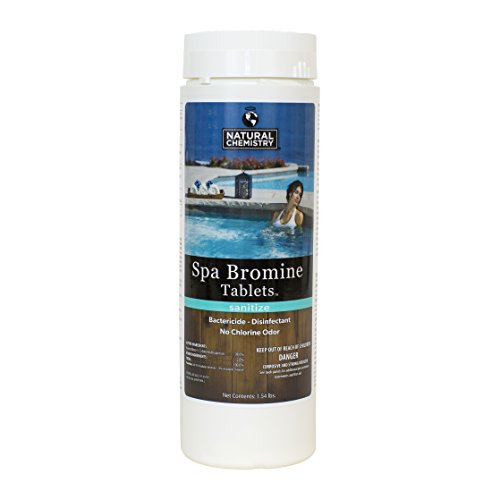 Hot Tub and Spa Bromine Tablets 1.54 LB - Natural Chemistry 04209