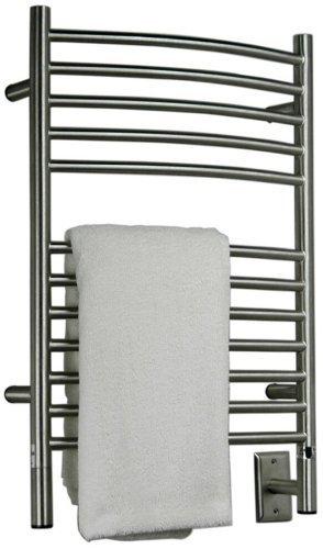 Amba ECB-20 20-1/2-Inch x 31-Inch Curved Towel Warmer, Brushed
