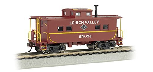 BAC16815 16815 NE Steel Caboose Lehigh Valley  95094 HO by Bachmann Trains