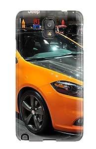 ZippyDoritEduard Galaxy Note 3 Well-designed Hard Case Cover Dodge Dart Yellow Protector